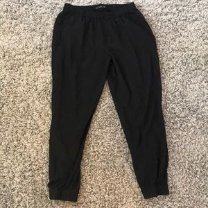 The Limited size L black joggers